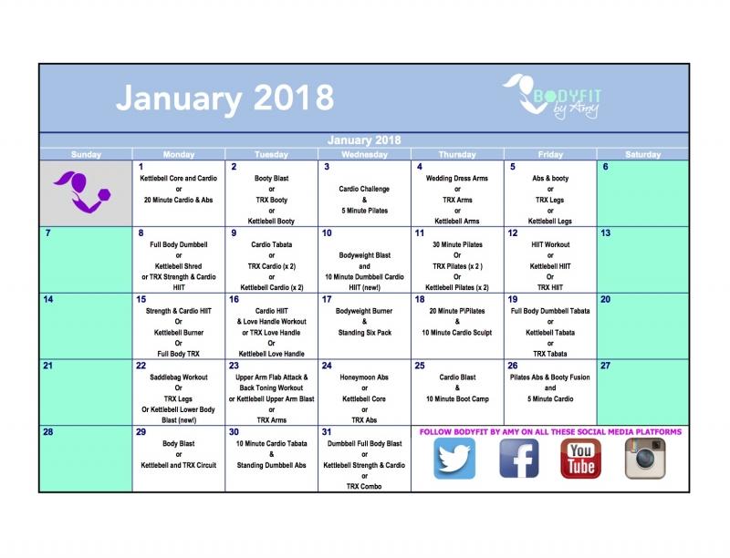 2018-january-workout-calendar